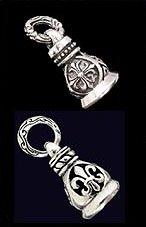 .925 Sterling Silver Biker Bells