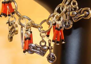 Custom Biker Bracelets