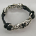 sterling silver rock star bracelet large view