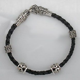 Enter the dragon biker bracelet  large view