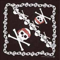 Skull and Chains Bandana
