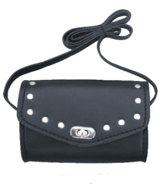 Studded Biker Girl Shoulder Purse