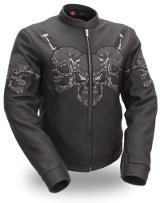 Women's Raceway Skull Jacket