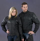 Ladies Leather Vented Jacket 2179