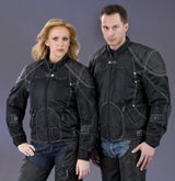 Ladies 600D Nylon Heavy Duty Mesh Vented Jacket