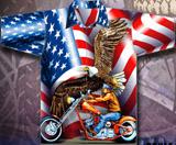 American Patriot Biker Shirt