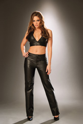 Womens Leather Skirts, Shorts and Pants
